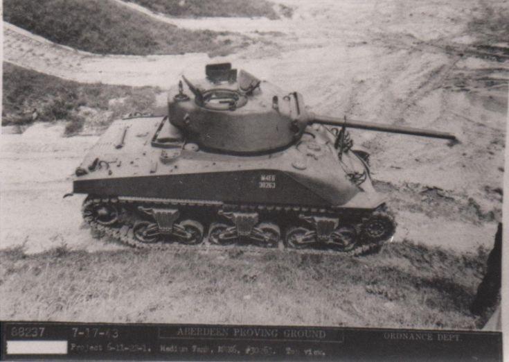 M4E6 Sherman