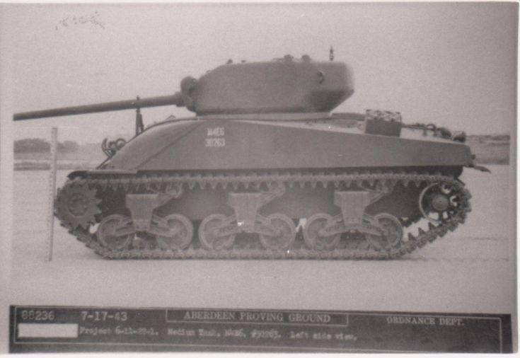 M4E6 Sherman Medium Tank