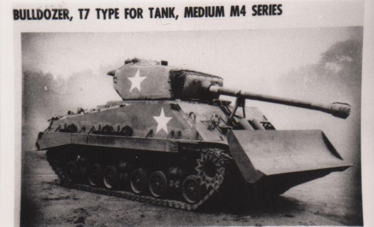 M4 Sherman with T7 Bulldozer