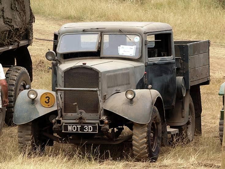 British WWII truck
