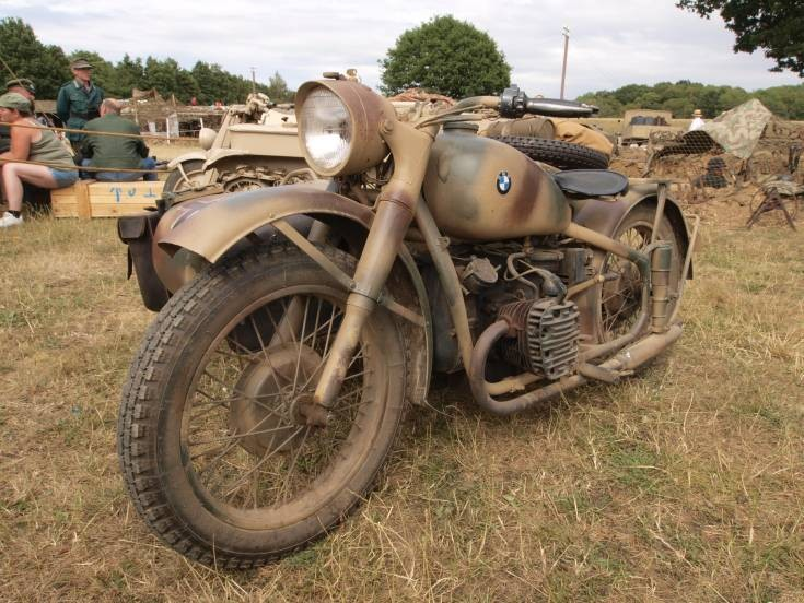 BMW WWII motorcycle