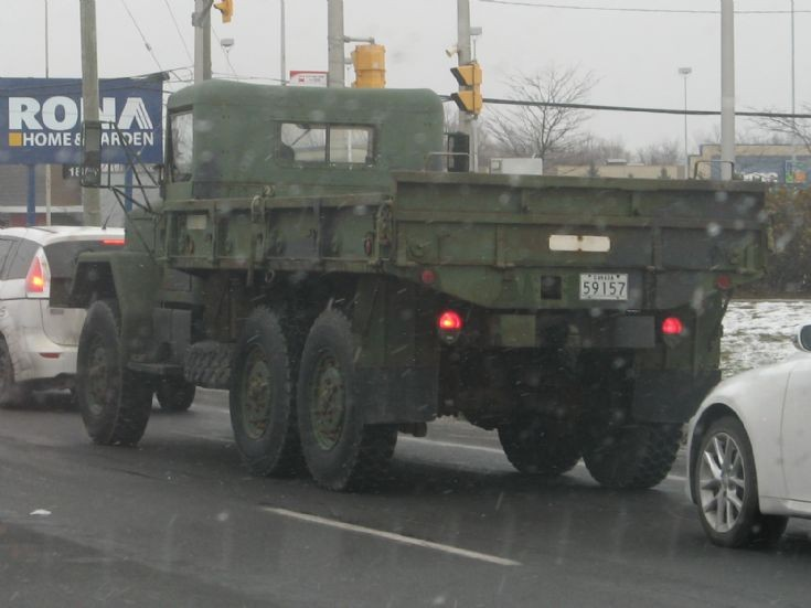 Canadian Armed Forces Dump Truck