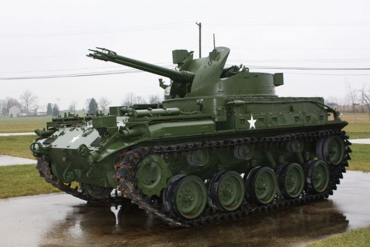 M42A1 twin 40mm SPAAG