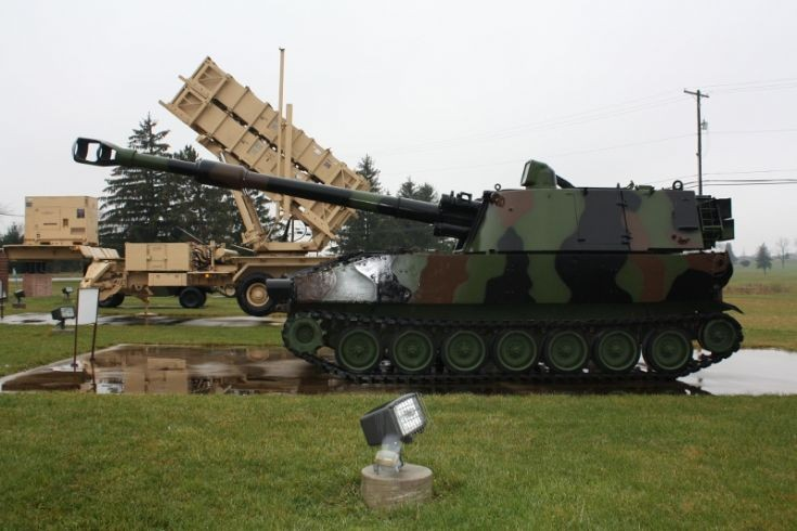 M109A3 155mm SPH