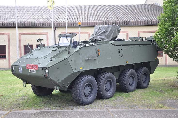 Steyr-Puch Pandur 6X6 APC