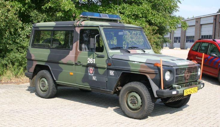 Mercedes 290GD Fire service ISK Harskamp