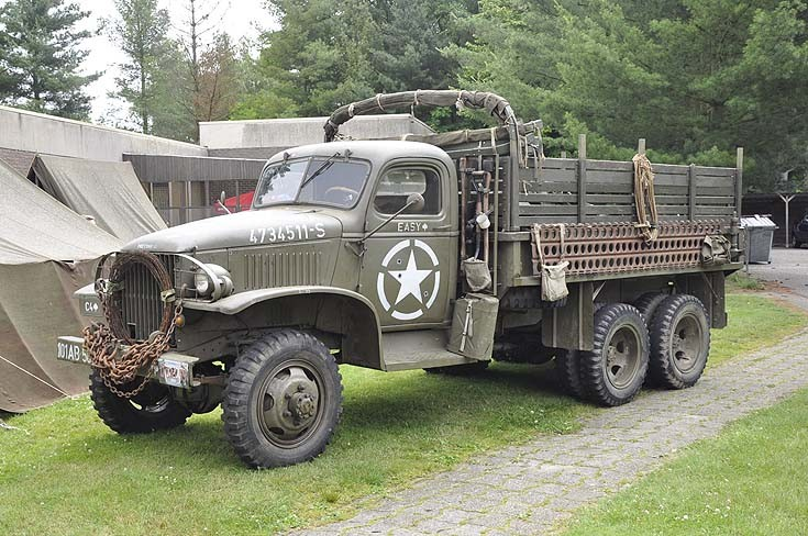 GMC WWII truck