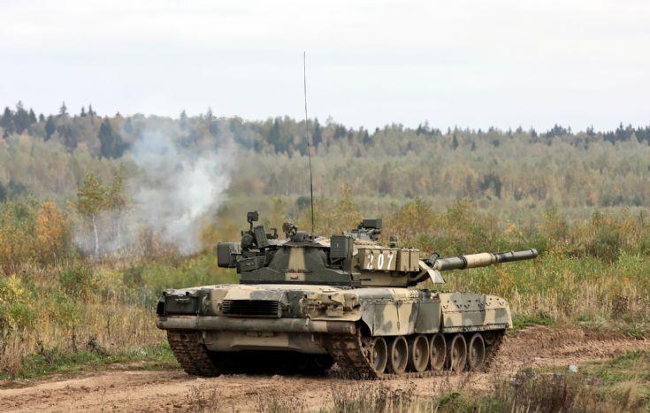 Russian T-80U of the 4th Tank Brigade.