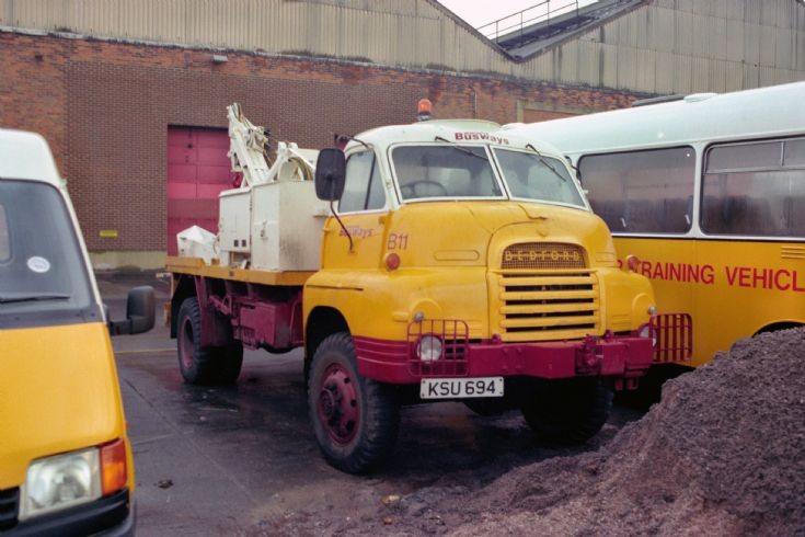 Ex Army Bedford with Busways (KSU694)