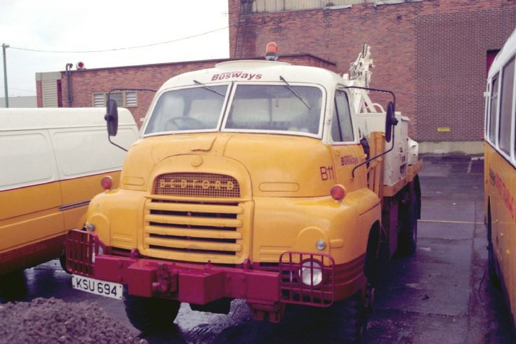 Ex Army Bedford with Busways (KSU694) 2nd view