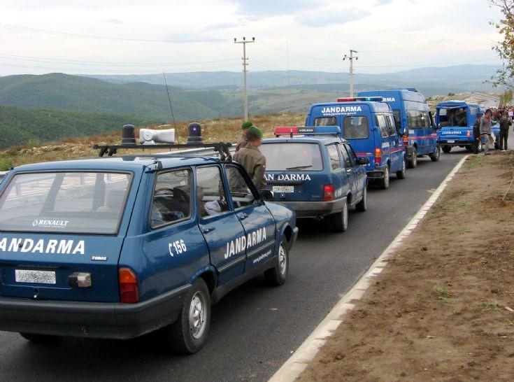 Various Jandarma Vehicles