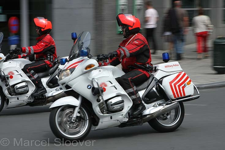 BMW Belgium Military Police