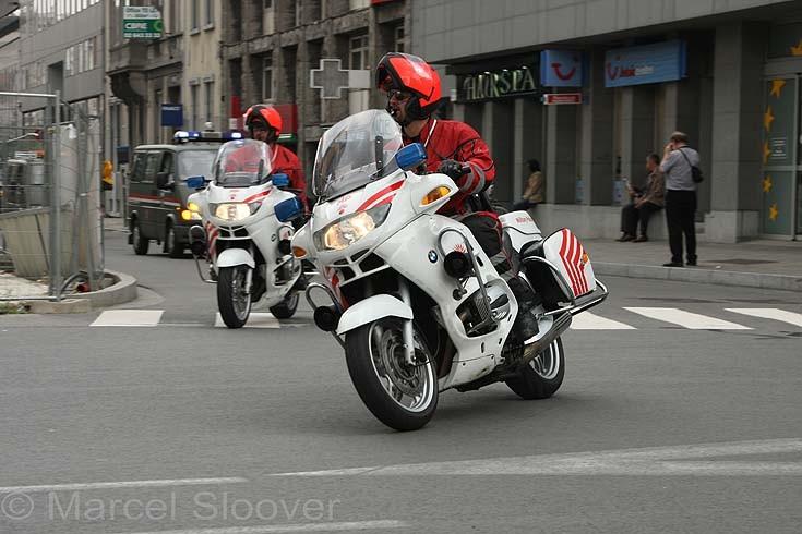 BMW Belgium Military Police.