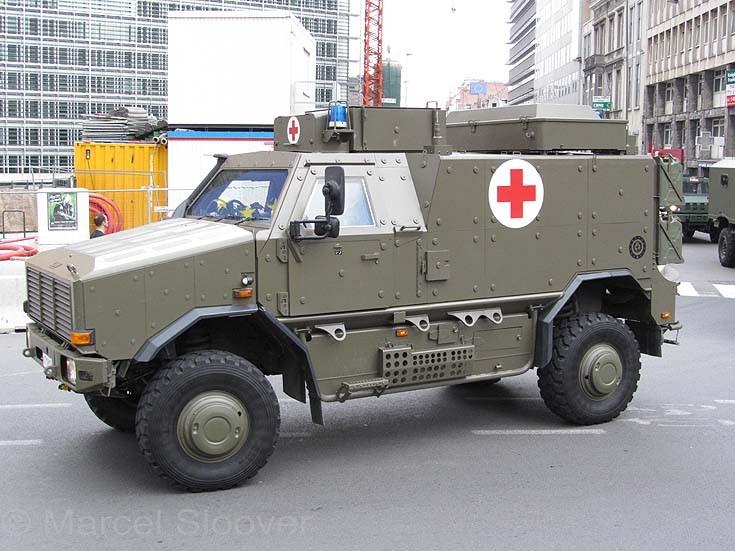 Dingo ambulance
