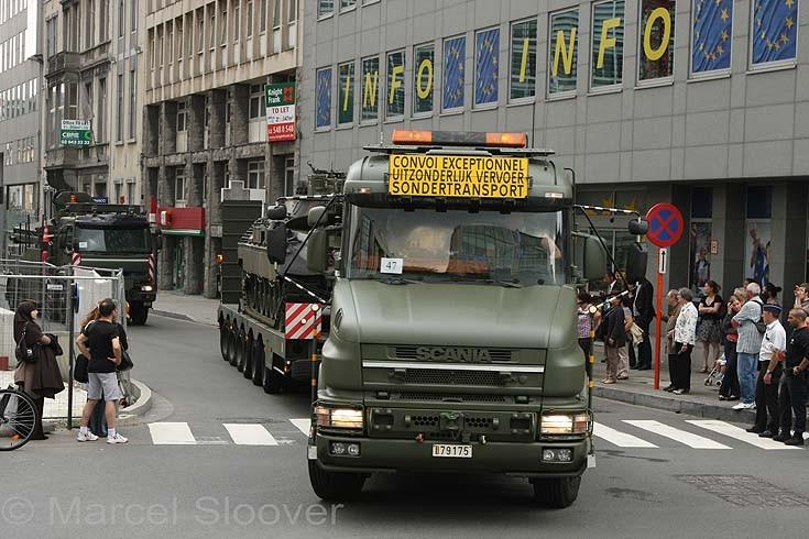 Scania T144 Tank transporter