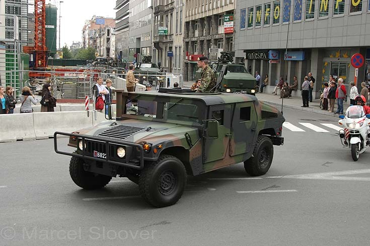 Hummer Luxembourg Armed Forces