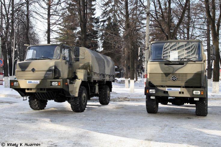 Ural-432065 and Ural-43206