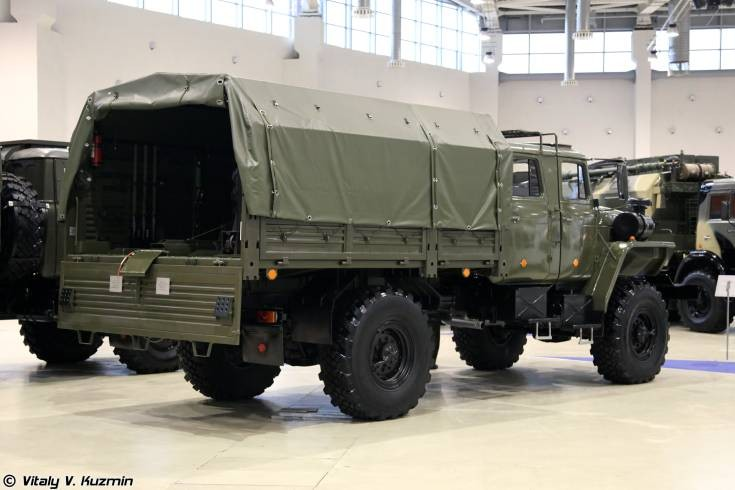 2F510 transport vehicle on Ural-43206