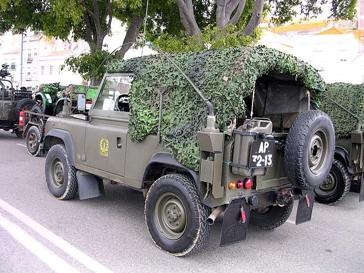 Portuguese Land Rover