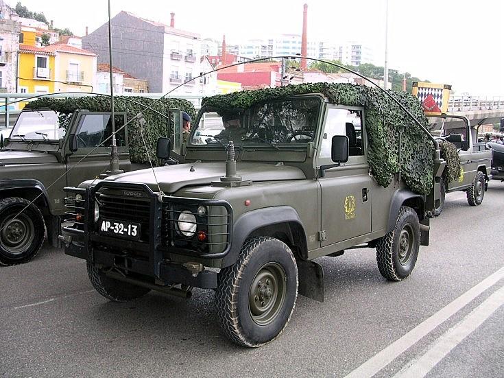 Portuguese Land Rover Defender