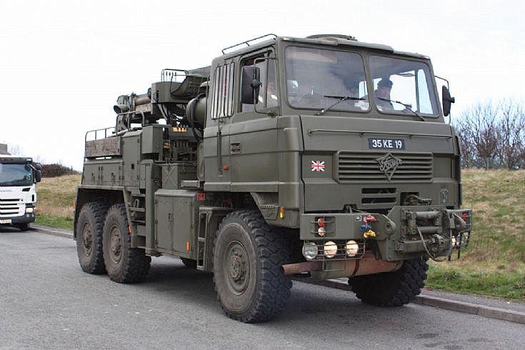 Army Foden 35KE19