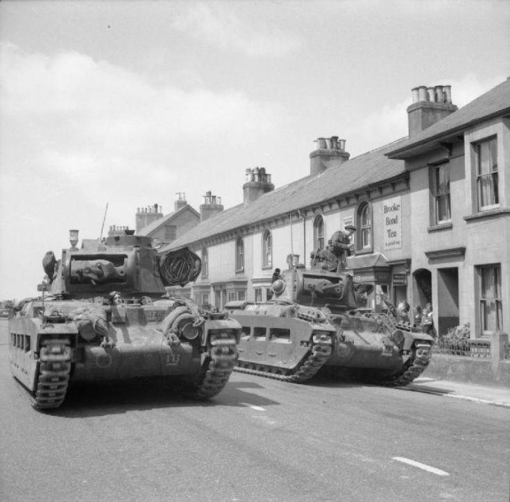 Matilda tanks