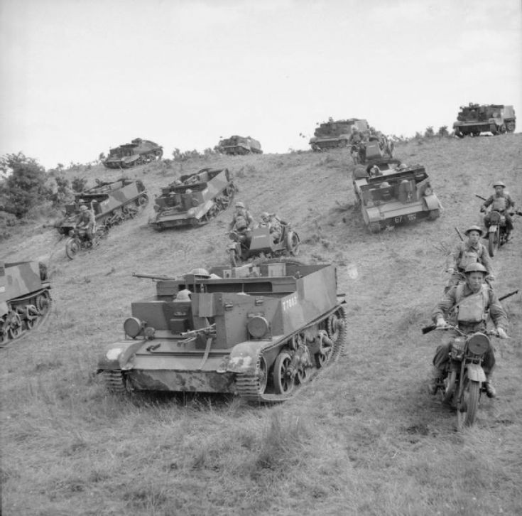 Universal carriers and motorcycles