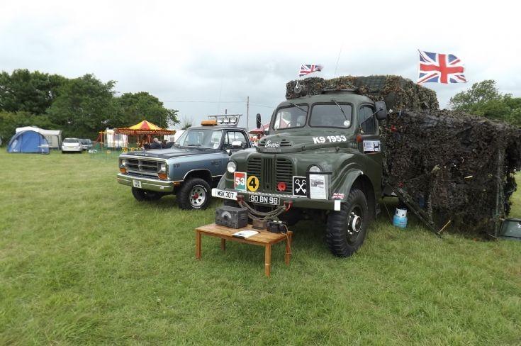 Classic Military truck at Bolnhurst