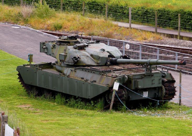 Chieftain Tank at Buckinghamshire Railway Centre