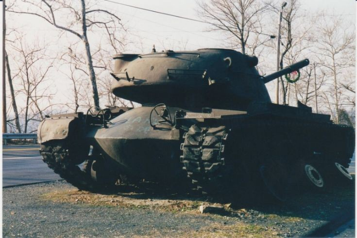 M48 Tank at Port Deposit VFW