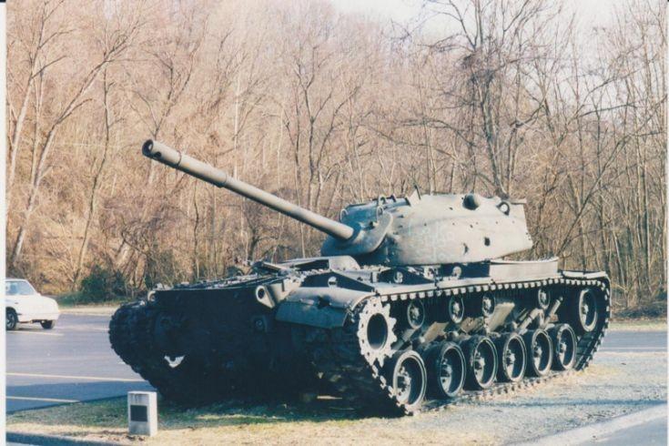 M48 Tank at Port Deposit, MD, VFW.