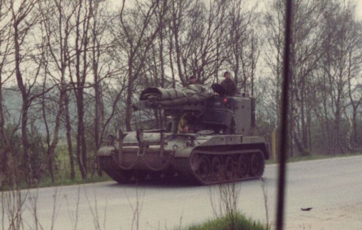 M578 on Hohne Ranges
