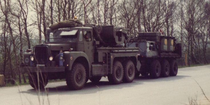 Scammel Recovery Truck