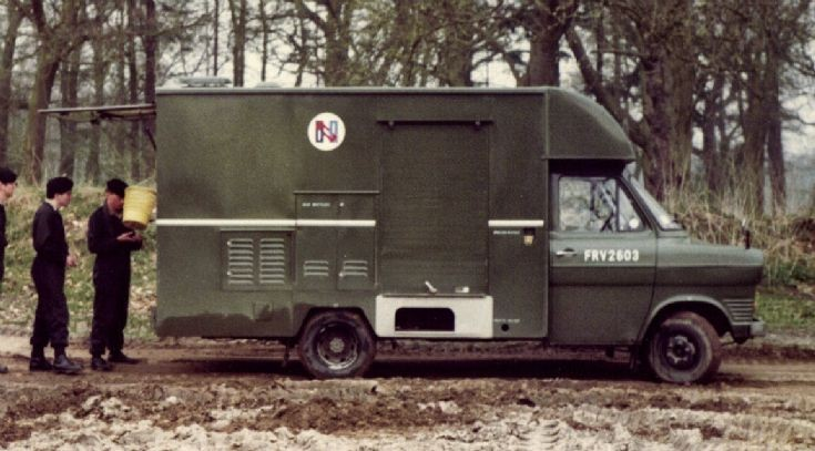 The NAAFI Wagon
