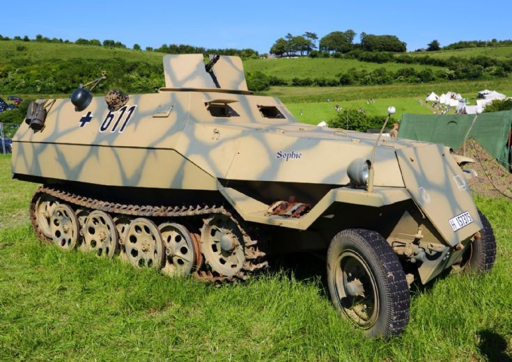 Halftrack at Chalke Valley