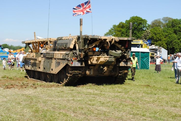Chieftain AVRE - Rear view