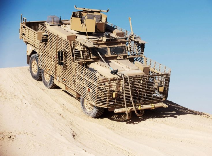 Army Driver Training for New Wolfhound