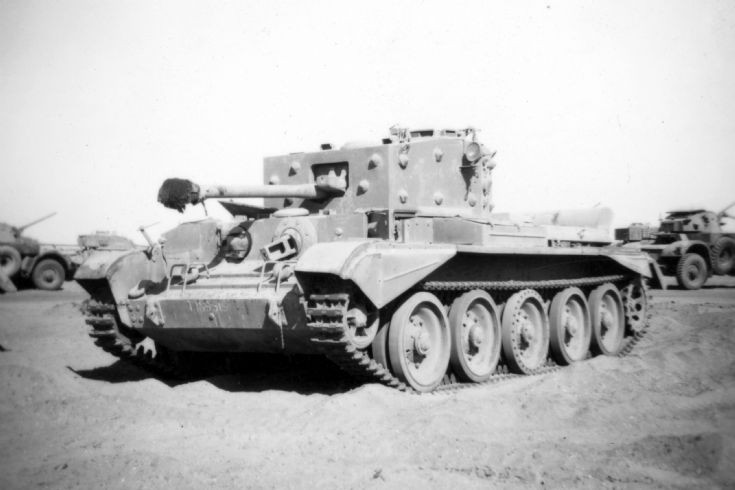 Cromwell Tank Middle East c1948