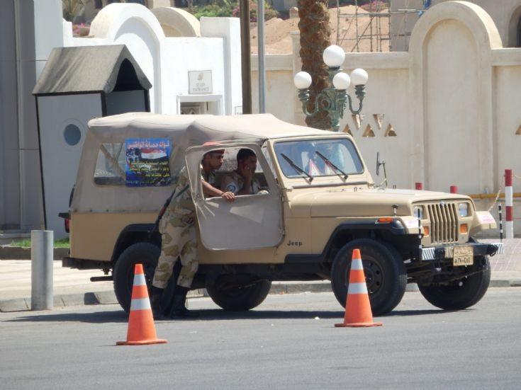 Jeep Egyptian Army - Egypt