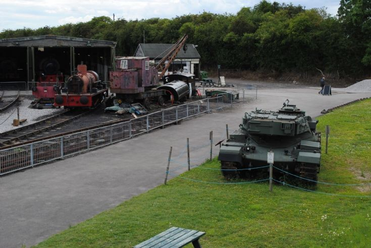 FV4201 Chieftain in an unusual setting
