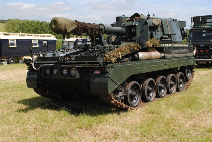 FV433 Abbot 105mm SP Gun