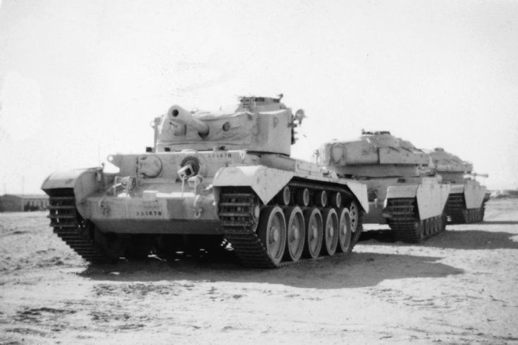 Comet and Centurion Tanks c1948