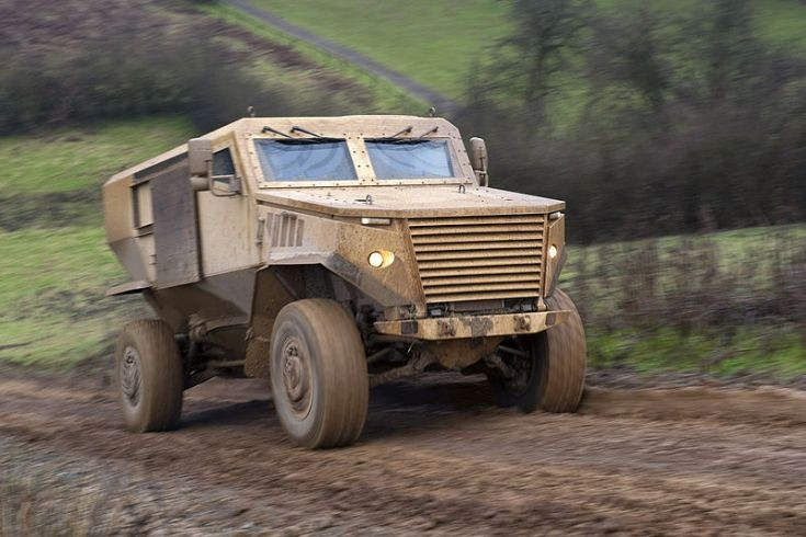Foxhound Light Protected Patrol Vehicle