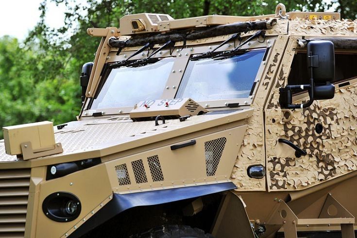 Foxhound Light Protected Patrol Vehicle (LPPV)