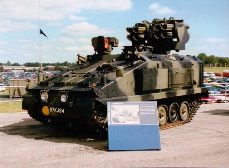 Military Vehicle Photos Alvis Stormer Hvm
