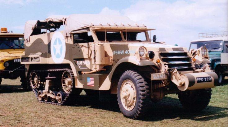 1940's White - Car, Half Track, M2A1