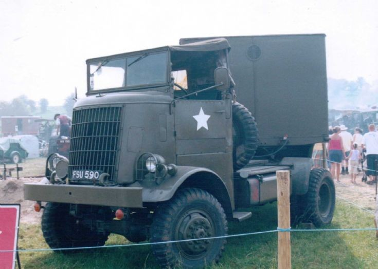 1940's Federal 4x4 Tractor
