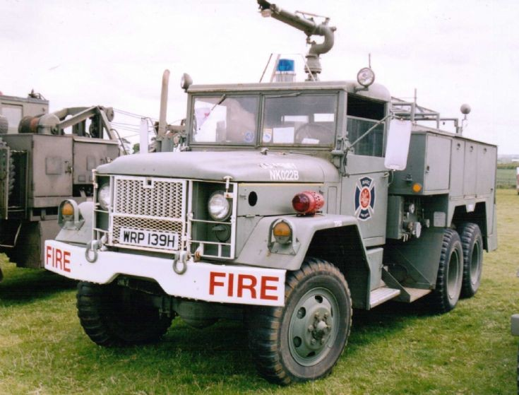 1969 REO - M35A2 6x6 Airport Fire Truck
