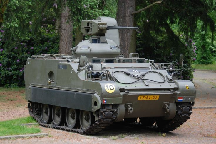 M113 A1 CR with Oerlikon canon