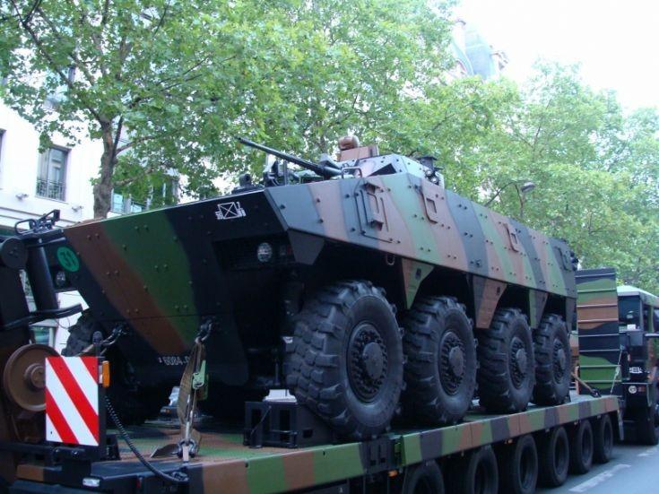 Combat Armored Vehicle - Paris